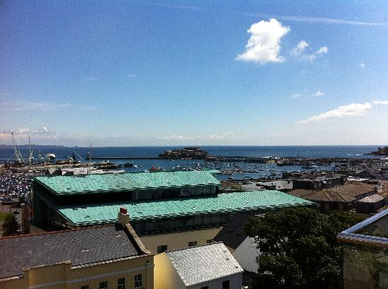 La Fregate Hotel: View from our room (115)