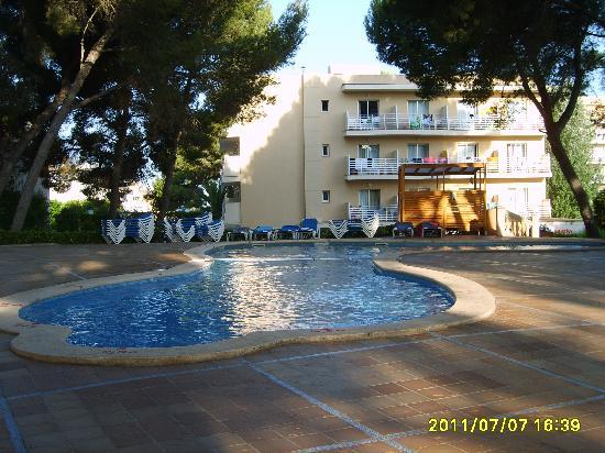 Playa de Palma, สเปน: Une piscine parmi tant d'autres...