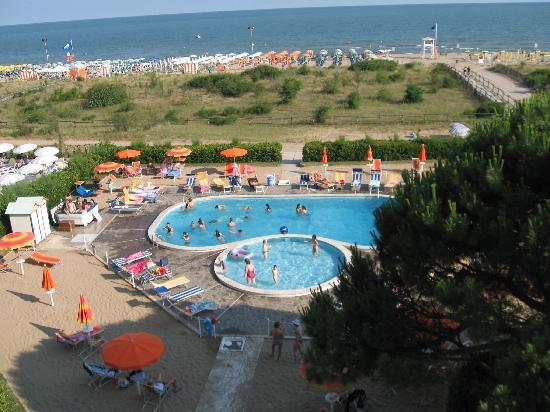 Park Hotel Bertha: vista dall'albergo