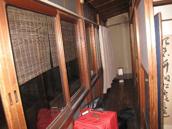 Inn Kawashima: The balcony