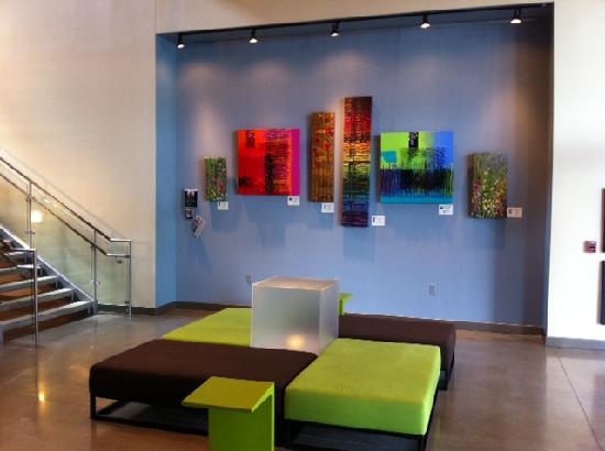 Aloft Leawood - Overland Park: Entrance lobby