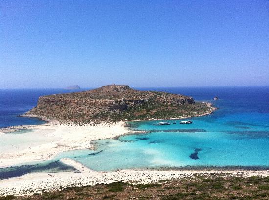 Agii Apostoli, اليونان: Balos Lagoon
