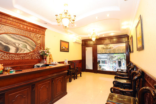 Little Hanoi Diamond Hotel: nice lobby