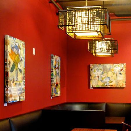Mai Thai Restaurant: Art Show Paintings by Judy Paul