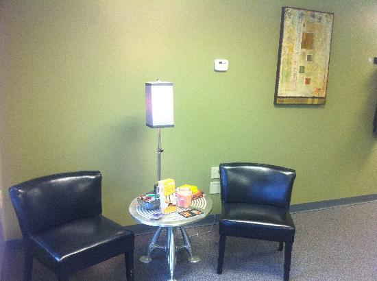 Evolve Spa: evvolve spa new buffalo, WiFi available one of our relaxation areas