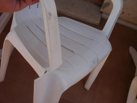 MedPlaya Hotel Regente: Collapsed chair