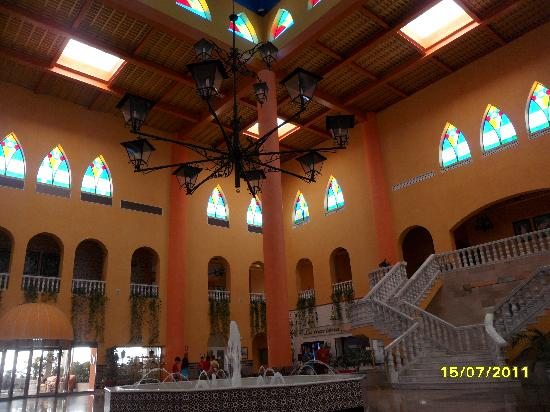 Playacartaya Spa Hotel: hall precioso de playacartaya