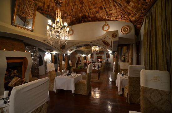 andBeyond Ngorongoro Crater Lodge: The restaurant