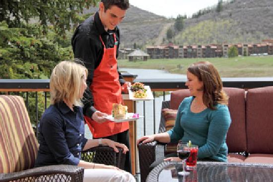 Deer Valley Grocery Cafe : Deck Dining