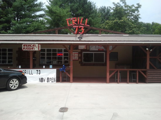 Newport, TN: Grill 73 - Outside
