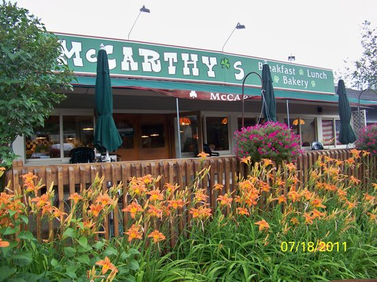 McCarthy's Restaurant : The first thing you see