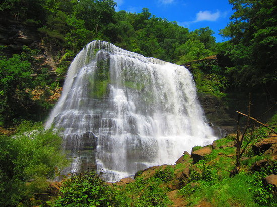 Burgess Falls State Park: Burgess Falls