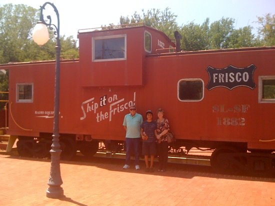 Caboose at Catoosa Historical Museum