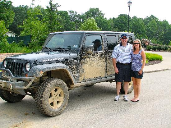 Nemacolin Woodlands Resort & Spa: Jeep Off-Road Adventure