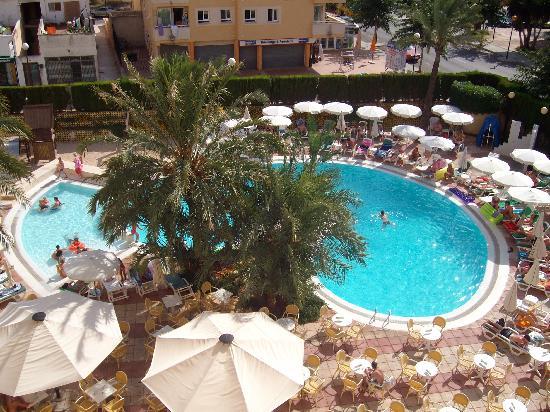 Hotel Girasol: La piscine