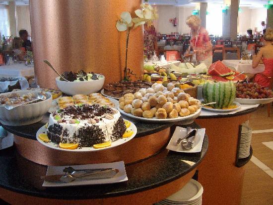 Hotel Girasol: Le buffet desserts