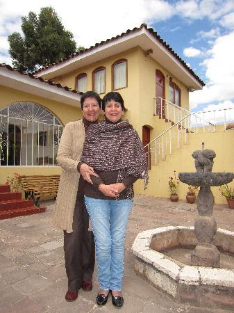 The Garden House: Doris et Ceci sont les propriétaires