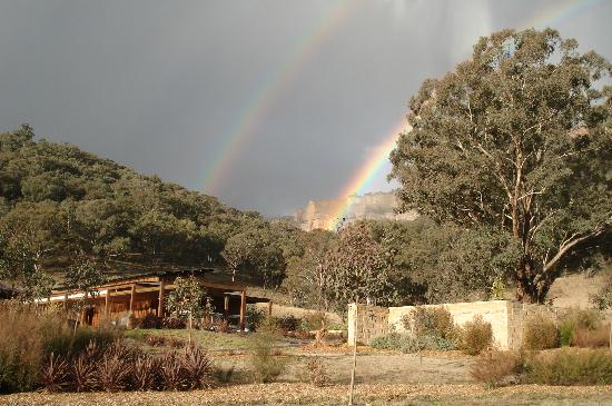 Emirates One&Only Wolgan Valley: A Double Rainbow over the valley