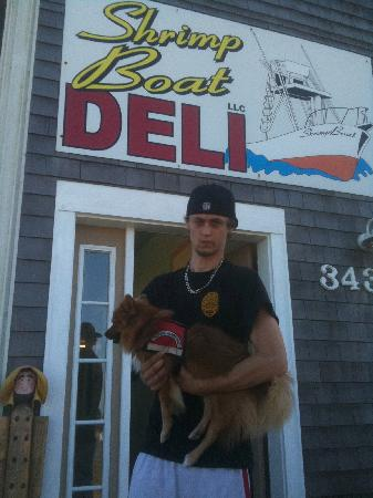 the shrimp boat deli: No Service Dogs Allowed!