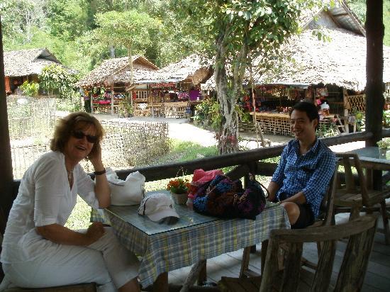 Siripanna Villa Resort & Spa: Christine and Tong