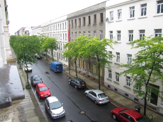 Galerie Hotel Leipziger Hof: View from my window