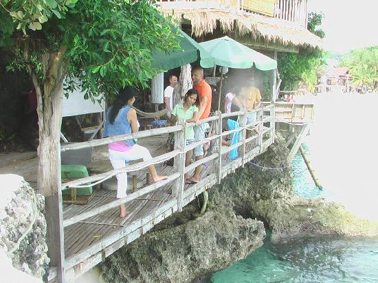 Spider House Resort : The deck