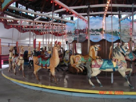 Conneaut Lake, PA: Park Carousel