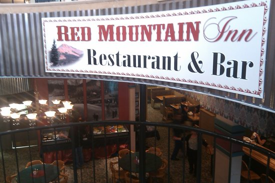 Red Mountain Cafe: Inside entrance