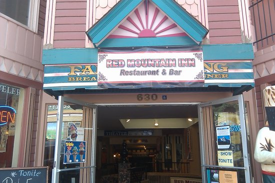 Red Mountain Cafe: Outside entrance