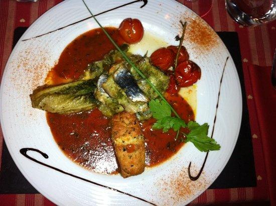 U Passaghju : Sardines grillées