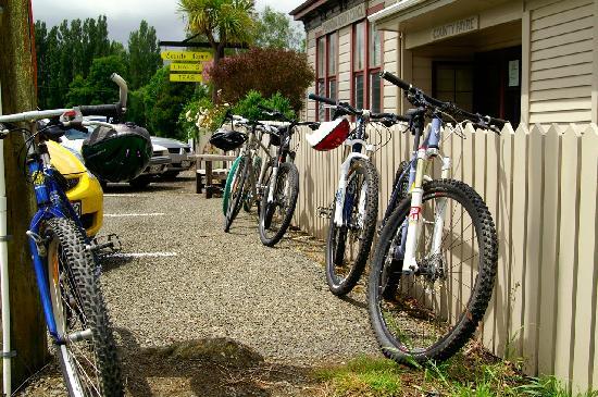 Pohangina, Nouvelle-Zélande : Bikes at County Fayre