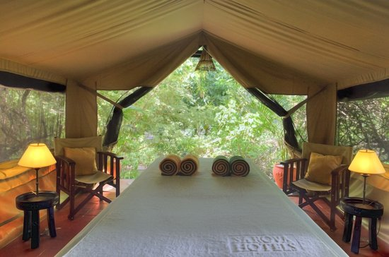 Sarova Mara Game Camp: Rejuvinating Spa