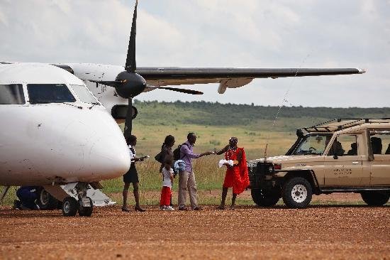 Sarova Mara Game Camp: Sarova Mara Air strip pick up