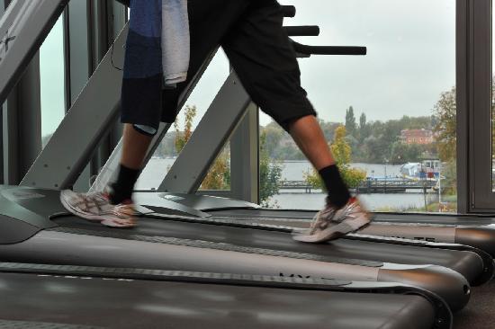 Neuruppin, ألمانيا: Fitnessbereich