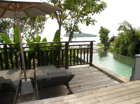 Bhundhari Spa Resort & Villas Samui: Private Pool in the villa