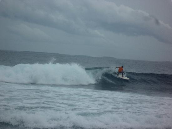 Cinnamon Dhonveli Maldives : vista dal bar dei surfisti