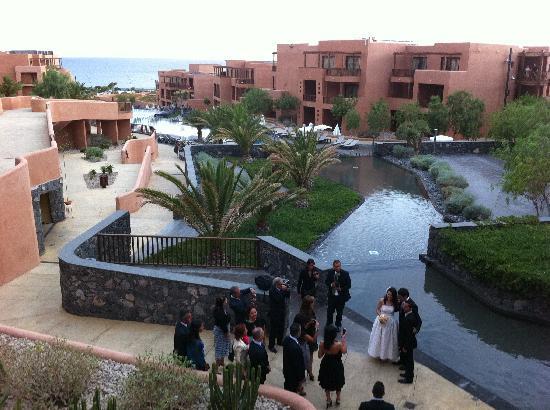 Sandos San Blas Nature Resort & Golf: wedding reception at hotel 22 July 2011