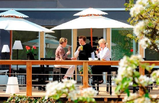 Hotel Viva Creativo: Terrassenbereich