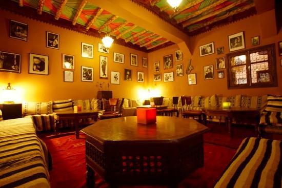 guest house Kasbah Ellouze: salon jazz