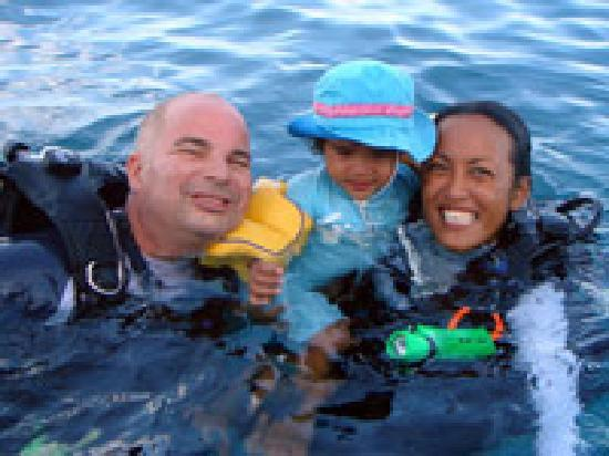 Sharkey Scuba: The Sharkey family