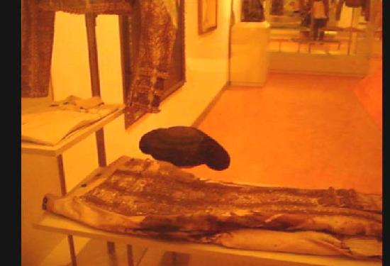 Bullfighting Museum : divisa insanguinata di Manolete!