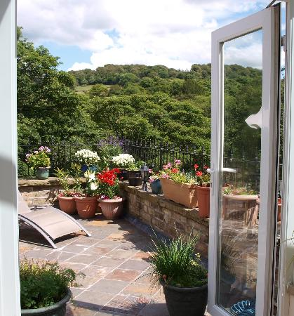 Old Stoney Bank Guest House: View from the conservatory