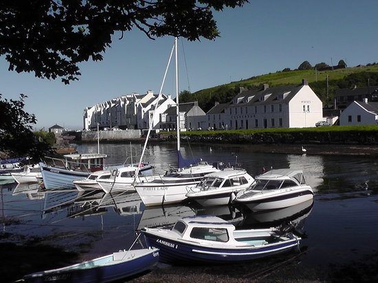 Ballymena, UK : Cushendun Harbour and Riverside