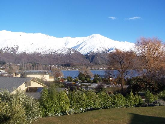 Wanaka Hotel: The view from our room!