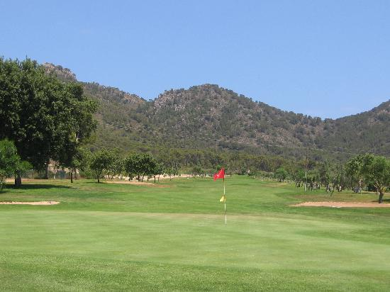 Costa de los Pinos, España: Behind 7th at Son Servera