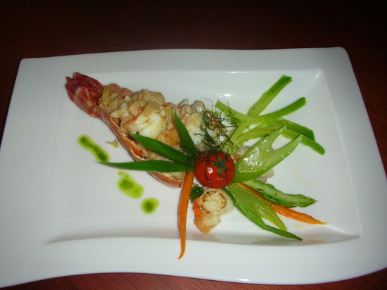 Kalypso Piano Restaurant: little lobster