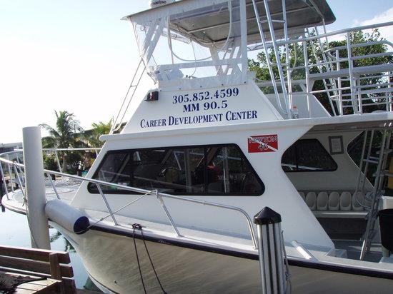 Florida Keys Dive Center: FKDC operates two 46' dive/snorkel boats
