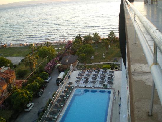Ephesia Hotel : Vue du 7ème