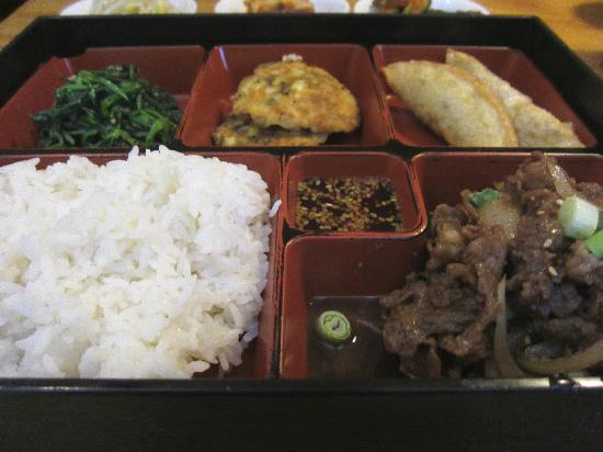 Sa Ri One: Bulgogi Bento box