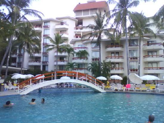 Park Royal Acapulco: Vissta desde la pileta